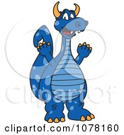 Blue Dragon School Mascot