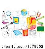 Set Of School Items