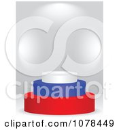 Clipart 3d Russian Flag Podium Royalty Free Vector Illustration by Andrei Marincas