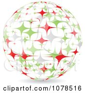 Clipart Starry Italian Sphere Royalty Free Vector Illustration