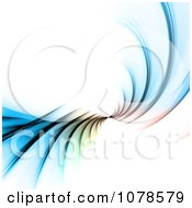 Clipart Colorful Fractal Spiral Royalty Free CGI Illustration