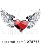 Red Shiny Winged Heart