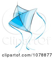 Flying Blue Kite