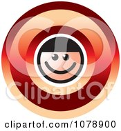 Clipart Letter O Person Royalty Free Vector Illustration