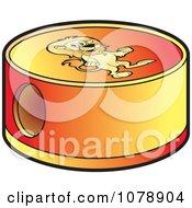 Clipart Lion Pencil Sharpener Royalty Free Vector Illustration