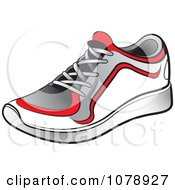 Clipart Shoe Royalty Free Vector Illustration