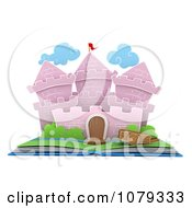 Clipart 3d Castle Pop Up Story Book Royalty Free CGI Illustration