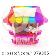 Clipart 3d Candy Shop Royalty Free CGI Illustration
