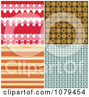 Clipart Set Of Retro Backgrounds Royalty Free Vector Illustration