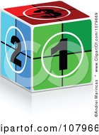Clipart 3d Cinema Take Box Royalty Free Vector Illustration by Andrei Marincas