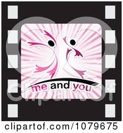 Clipart Me And You Film Strip Icon Royalty Free Vector Illustration