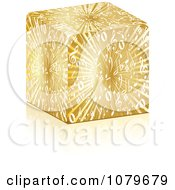 Clipart 3d Gold Music Box Royalty Free Vector Illustration