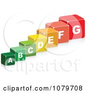 Clipart 3d Energy Chart Boxes Royalty Free Vector Illustration by Andrei Marincas