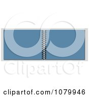 Clipart 3d Blue Spiral Notebook Royalty Free Illustration