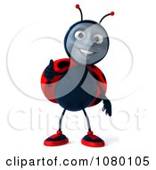 Clipart 3d Ladybug Holding A Thumb Up Royalty Free CGI Illustration by Julos
