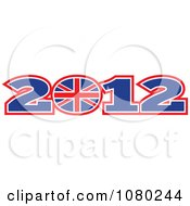 Clipart 2012 London Olympics And UK Circle Royalty Free Vector Illustration by patrimonio