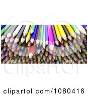 Clipart 3d Pile Of Colored Pencils Royalty Free CGI Illustration by KJ Pargeter