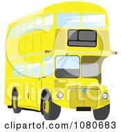 Yellow Double Decker Bus