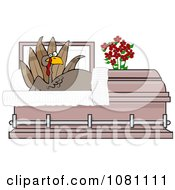Shocked Turkey Rising In A Casket