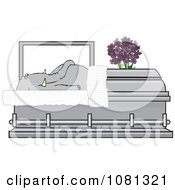 Dead Elephant In A Coffin