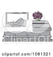 Dead Elephant In A Coffin