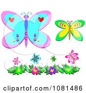 Set Of Butterflies 2