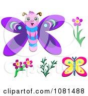 Set Of Butterflies 1