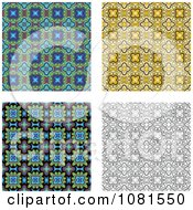 Set Of Seamless Pattern Background Designs 2
