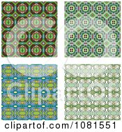 Set Of Seamless Pattern Background Designs 3