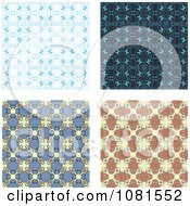 Set Of Seamless Pattern Background Designs 4