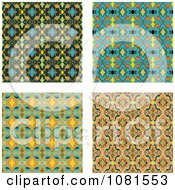 Set Of Seamless Pattern Background Designs 5