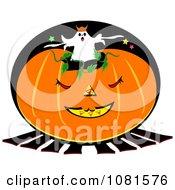 Halloween Jackolantern And Ghost