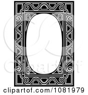 Clipart Black And White Frame Border With Copyspace 11 Royalty Free Vector Illustration by Frisko