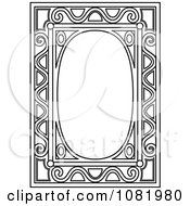 Black And White Frame Border With Copyspace 12