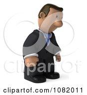 3d Sad Indian Business Guy