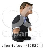 Clipart 3d Sad Indian Business Guy Royalty Free CGI Illustration by Julos
