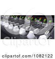 3d Music Mixing Desk