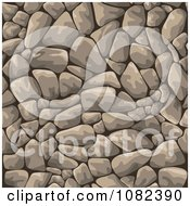 Clipart Gray Cobblestone Background Royalty Free Vector Illustration by Vector Tradition SM