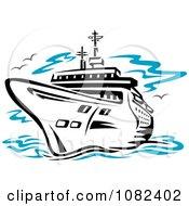 Black Cruise Ship