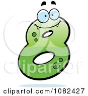 Clipart Number Eight Character Royalty Free Vector Illustration by Cory Thoman