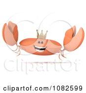 3d King Crab Jumping