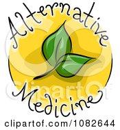 Clipart Alternative Medicine Blog Icon Royalty Free Vector Illustration