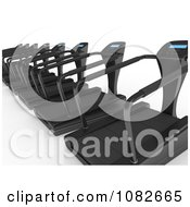 Clipart 3d Treadmills In A Gym Royalty Free CGI Illustration by BNP Design Studio