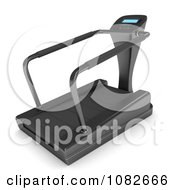 Clipart 3d Gym Treadmill Royalty Free CGI Illustration by BNP Design Studio