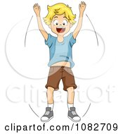 Royalty-Free (RF) Warm Up Clipart, Illustrations, Vector ...  Jumping