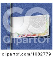 Clipart Silver Banner Tucked In Jeans Royalty Free Vector Illustration by Andrei Marincas