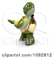 Clipart 3d Tortoise Holding A Transistor Royalty Free CGI Illustration by KJ Pargeter