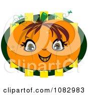 Happy Halloween Pumpkin Face