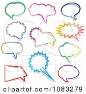 Colorful Chatting Balloons