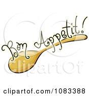 Clipart Spoon Bon Appetit Food Ico Royalty Free Vector Illustration